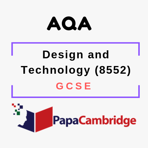 Design and Technology (8552) GCSE Ebooks