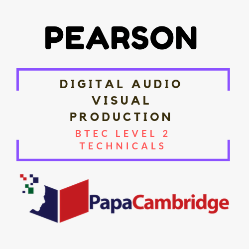 Digital Audio/Visual Production Notes