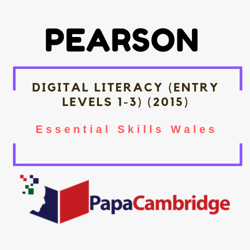 Digital Literacy (Entry Levels 1-3) (2015) Essential Skills Wales Syllabus