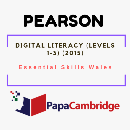Digital Literacy (Levels 1-3) (2015) Notes
