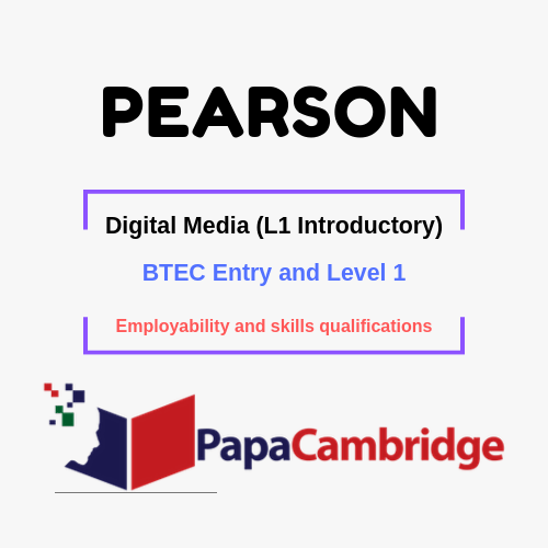 Digital Media (L1 Introductory) Employability and skills qualifications Past Papers