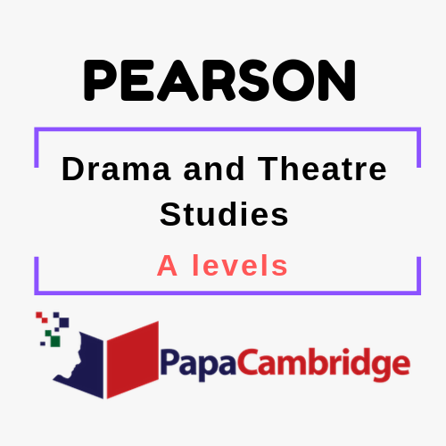 Drama and Theatre Notes