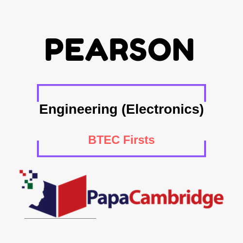 Engineering (Electronics) BTEC Firsts Syllabus
