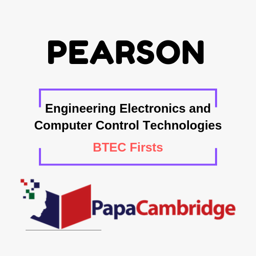 Engineering Electronics and Computer Control Technologies BTEC Firsts Syllabus