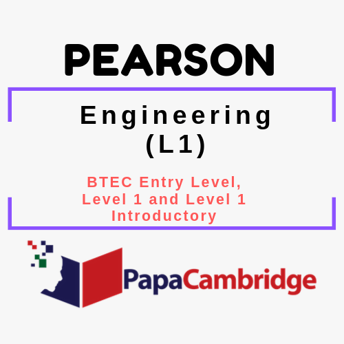 Engineering (L1) BTEC Entry Level, Level 1 and Level 1 Introductory PPT Slides