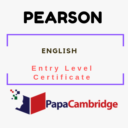 English Entry Level Certificate Syllabus