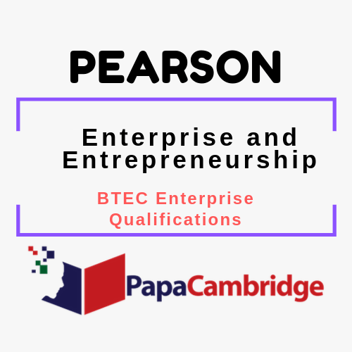 Enterprise and Entrepreneurship BTEC Enterprise qualifications Past Papers