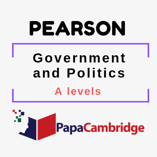 Government and Politics A levels Past Papers