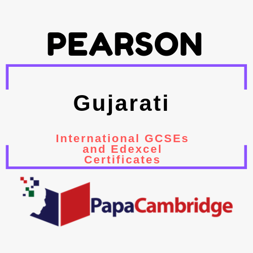 Gujarati International GCSEs and Edexcel Certificates Past Papers