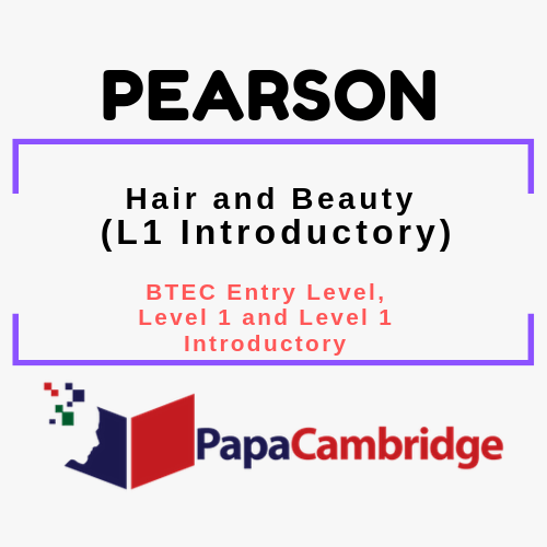 Hair and Beauty (L1 Introductory) BTEC Entry Level, Level 1 and Level 1 Introductory Syllabus