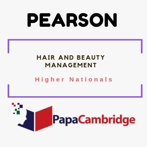 Hair and Beauty Management Notes