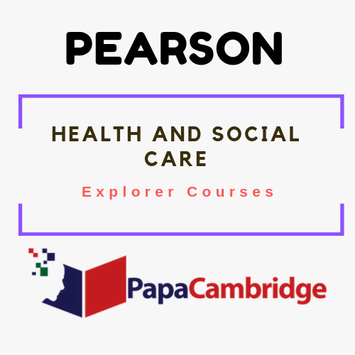 Health and Social Care Explorer Courses Past Papers