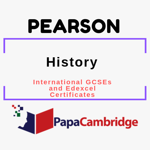 History (2017) International GCSEs and Edexcel Certificates Syllabus