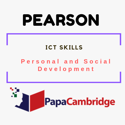 ICT Skills (Entry 1) Personal and Social Development Syllabus