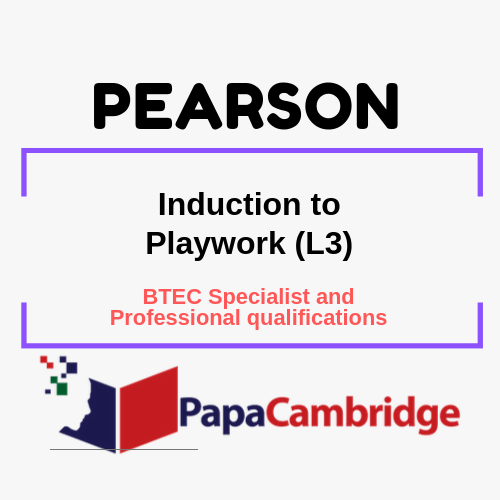 Induction to Playwork (L3) Notes