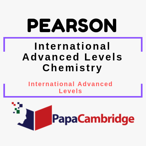 International Advanced Levels Chemistry (2018) Notes