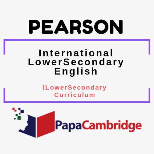 English iLowerSecondary Curriculum Past Papers