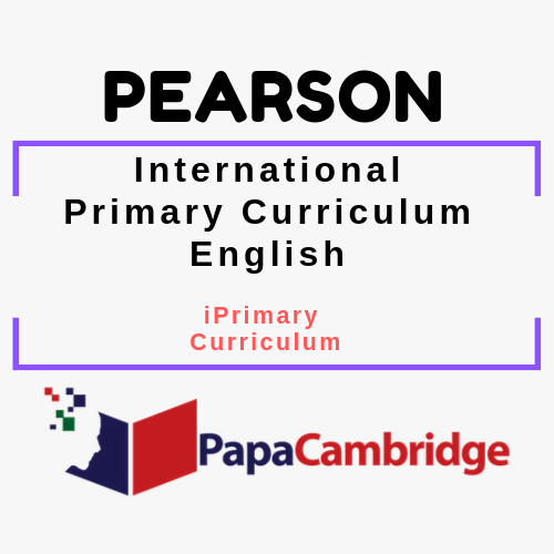 English (2018) Pearson Edexcel iPrimary Curriculum Ebooks