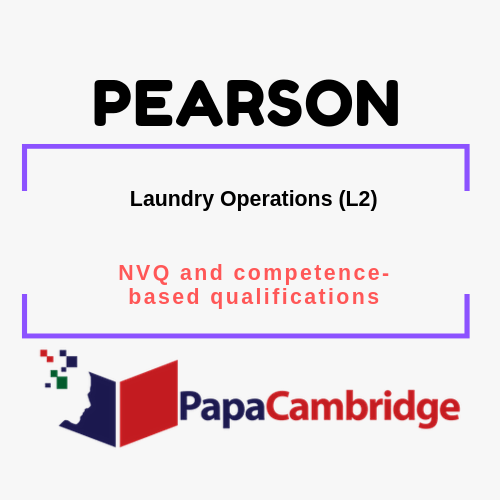 Laundry Operations (L2) NVQ and competence-based qualifications Past Papers