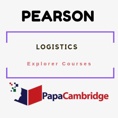 Logistics Explorer Courses Syllabus