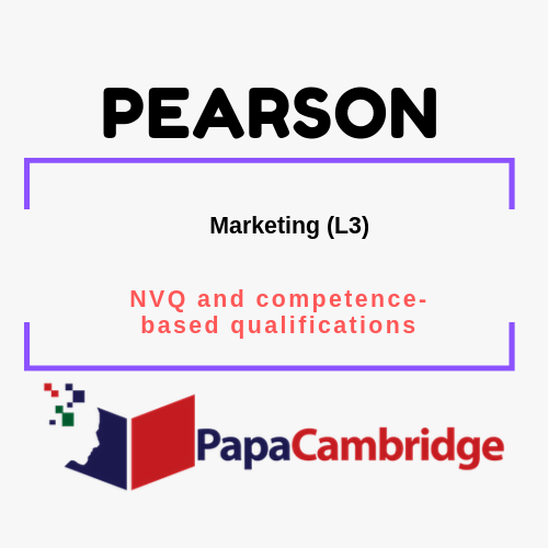 Marketing (L3) NVQ and competence-based qualifications Past Papers