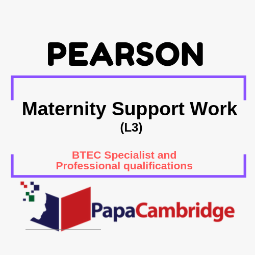 Maternity Support Work (L3) Notes