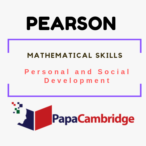 Mathematical Skills (Entry 1) Personal and Social Development Syllabus