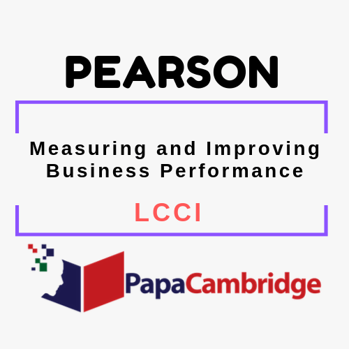 Measuring and Improving Business Performance Notes