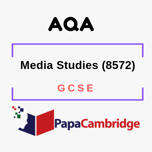Media Studies (8572) GCSE Past Papers