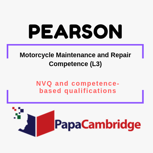 Motorcycle Maintenance and Repair Competence (L3) Notes