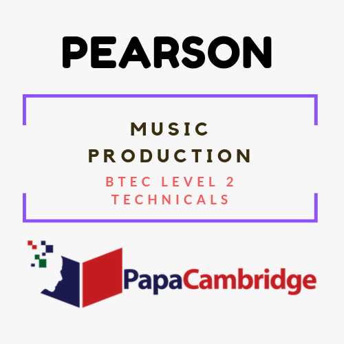 Music Production BTEC Level 2 Technicals Syllabus