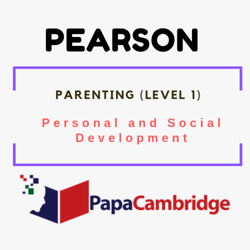 Parenting (Level 1) Personal and Social Development Syllabus