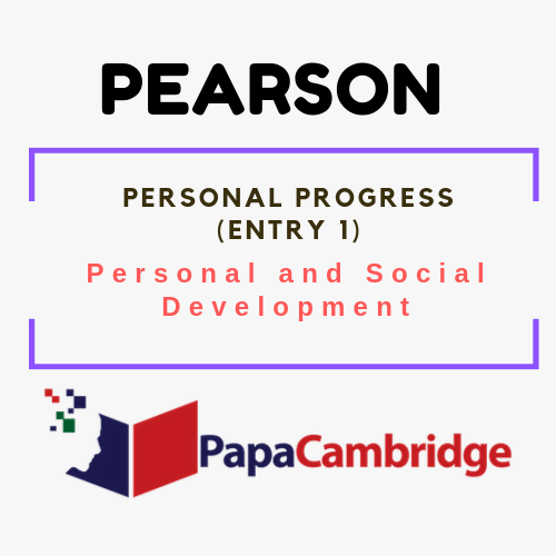 Personal Progress (Entry 1) Personal and Social Development Syllabus