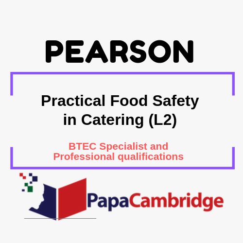 Practical Food Safety in Catering (L2) Notes