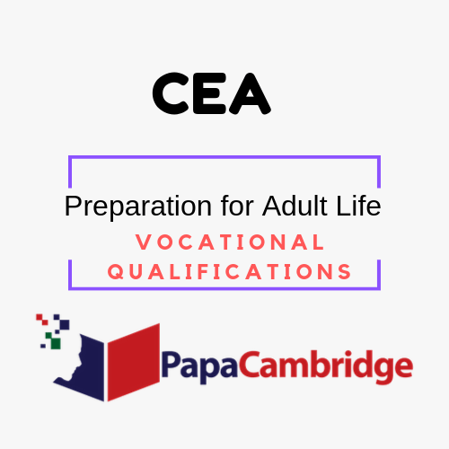 Preparation for Adult Life Vocational Qualifications Ebooks