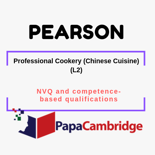 Professional Cookery (Chinese Cuisine) (L2) NVQ and competence-based qualifications Syllabus