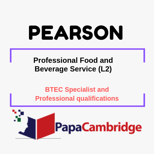 Professional Food and Beverage Service (L2) Notes