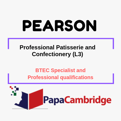 Professional Patisserie and Confectionery (L3) Notes