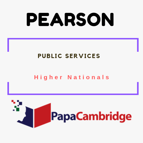 Public Services Higher Nationals Ebooks