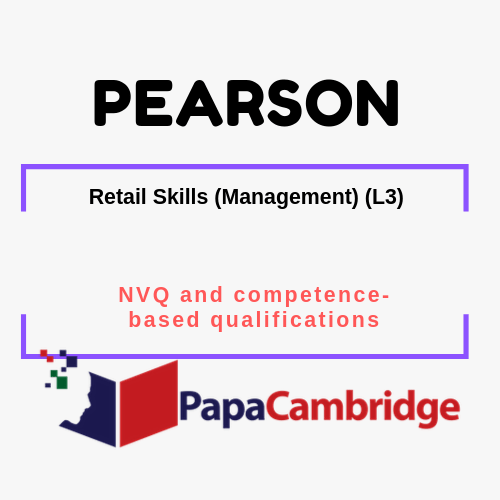 Retail Skills (Management) (L3) NVQ and competence-based qualifications Syllabus