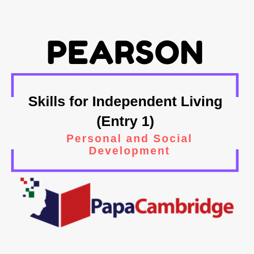 Skills for Independent Living (Entry 1) Notes