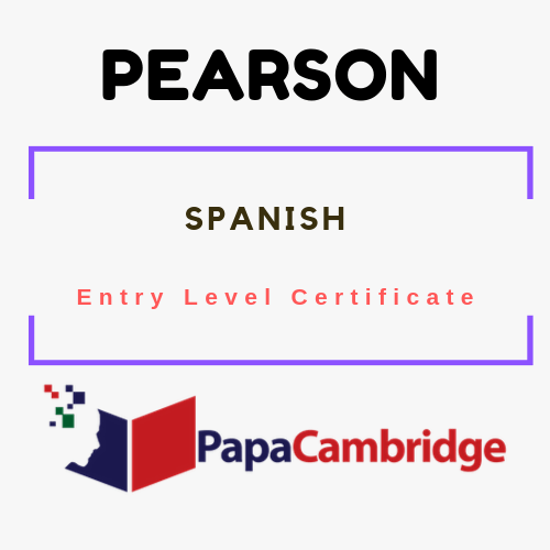 Spanish Entry Level Certificate Syllabus