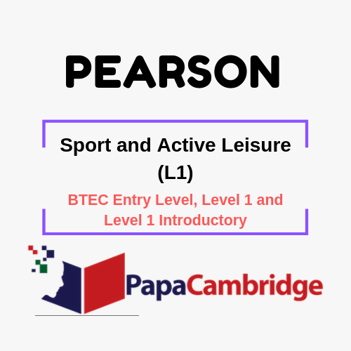 Sport and Active Leisure (L1) BTEC Entry Level, Level 1 and Level 1 Introductory Ebooks