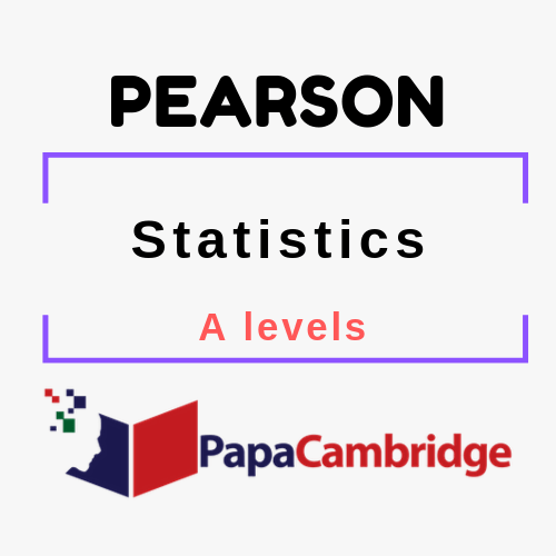 Statistics A levels Past Papers