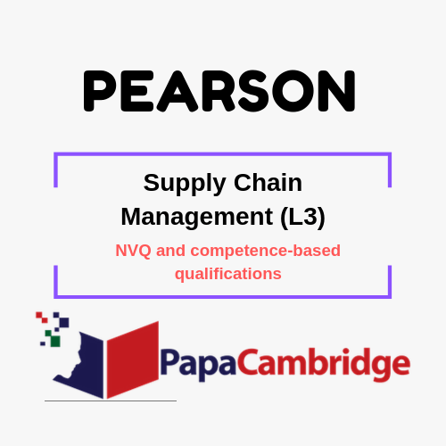 Supply Chain Management (L3) NVQ and competence-based qualifications Past Papers