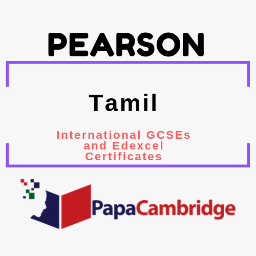 Tamil International GCSEs and Edexcel Certificates Past Papers