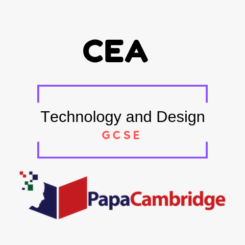 Technology and Design General Certificate of Secondary Education PPT Slides
