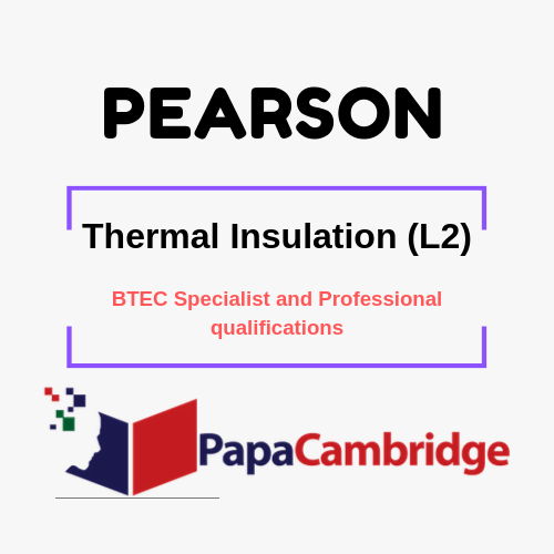 Thermal Insulation (L2) Notes