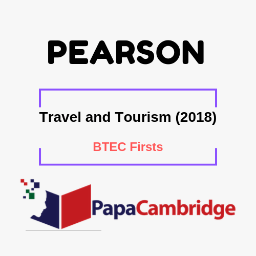 Travel and Tourism (2018) BTEC Firsts Syllabus