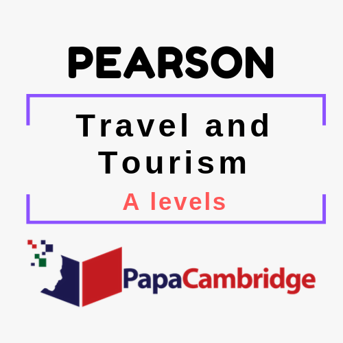 Travel and Tourism A level Syllabus